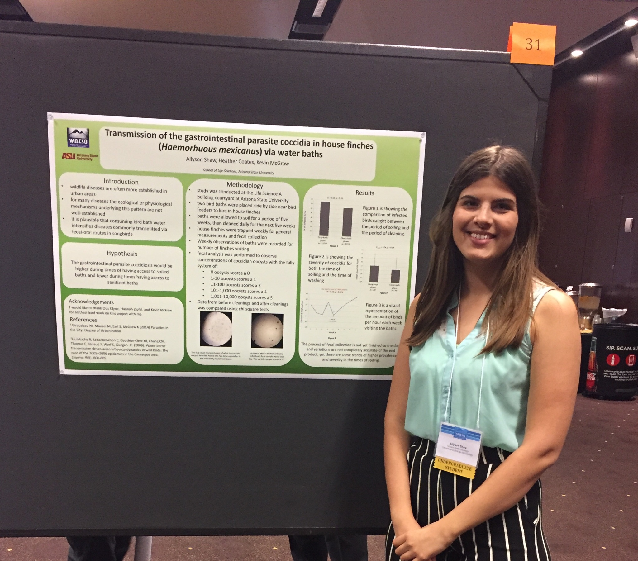 Lab ✿ Conbio Alliance Student Eco Allyson Hall At 2018 Poster Presents Asu Symposium The Shaw Waeso amp; Research